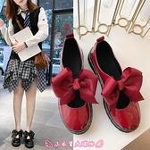 娃娃鞋 日系小皮鞋女學生韓版平底洛麗塔增高英倫風軟妹百搭圓頭原宿單鞋 - 小衣里大購物