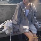 衛衣女連帽薄款外套韓版寬鬆上衣開衫【繁星小鎮】