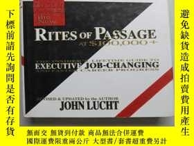 二手書博民逛書店thenew罕見RITES OF PASSAGE AT﹩100,