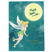 Hamee 日本製 迪士尼 星座夜空 迷你便條紙 留言紙 辦公小物 小飛俠彼得潘 奇妙仙子 叮噹 UA54248