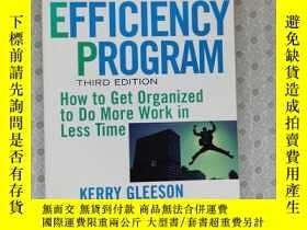 二手書博民逛書店16開英文原版罕見The Personal Efficiency Program : How To Get Org