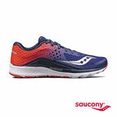 SAUCONY KINVARA 8 專業訓練鞋-橘紅夕陽