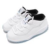 Nike Jordan 11 Retro Low TD 傳奇藍 白 藍 幼童 童鞋 小朋友 AJ11 【ACS】 505836-117
