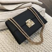 高級感包包洋氣女包2020新款潮韓版百搭簡約時尚chic鍊條斜挎小包