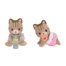 森林家族 斑紋貓雙胞胎_ EP20172