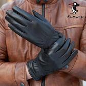 手套男士冬季保暖綿羊皮騎車手套加絨加厚皮手套男薄款   時尚潮流