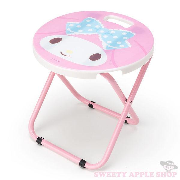 日本限定 美樂蒂 戶外折疊椅