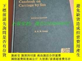 二手書博民逛書店英文原版:casebook罕見on carriage by se