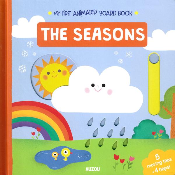 My First Animated Board Book:The Seasons 我的第一本推拉小書:四季篇