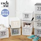 迪士尼收納儲物盒 Uncle-Way威叔叔 台灣製 鞋盒 防塵 收納盒 迪士尼正版授權 簡約鞋盒【BC002101】