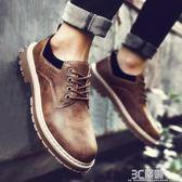 馬丁靴 男鞋馬丁靴子男士低筒靴子男馬丁鞋男低筒百搭工裝鞋男靴潮鞋 3C優購