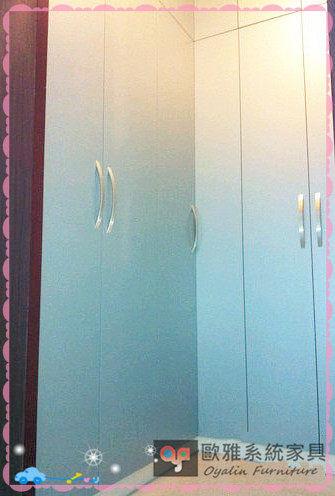 【歐雅系統家具】系統家俱 系統收納櫃 L行轉角衣櫃 原價 78693 特價55085