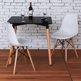 椅子實木餐椅簡約北歐椅家用靠背臥室電腦椅休閒懶人椅igo     琉璃美衣