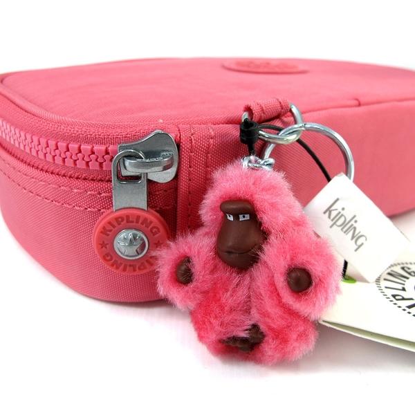 Kipling 50 PENS 沙漠玫瑰粉文具收納盒 / 化妝包-AC82176CD