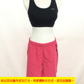 MIZUNO  美津濃  女運動路跑褲  (桃紅) 輕巧  舒適 透氣排汗 J2TB8A2166【 胖媛的店 】