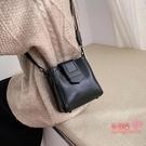 水桶包 秋冬chic休閒洋氣包包女2020新款韓版時尚氣質百搭單肩斜背水桶包 5色