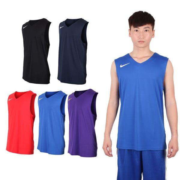 NIKE 男運動背心(針織 籃球背心 慢跑 路跑≡排汗專家≡