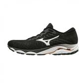 Mizuno Wave Inspire 16 [J1GC201301] 男鞋 運動 休閒 慢跑 輕量 彈力 美津濃 黑白