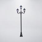 古典美戶外庭園燈 三燈防水型 可客製化 ...