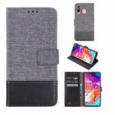 三星 A8s 掀蓋磁扣手機套 手機殼 皮夾手機套 側翻可立 外磁扣皮套 保護套 翻蓋