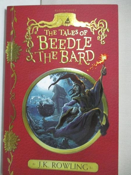【書寶二手書T5/原文小說_LAY】The Tales of Beedle the Bard_J. K. Rowling