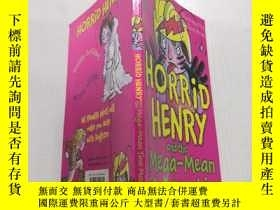 二手書博民逛書店Horrid罕見Henry and the Mega-Mean Time Machine: 可怕的亨利和超級平均時