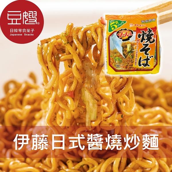 【豆嫂】日本泡麵 伊藤 日式醬燒炒麵 (五入/袋)