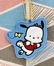 【震撼精品百貨】Pochacco 帕帢狗~三麗鷗帕帢狗~別針吊飾~藍蝴蝶*10275