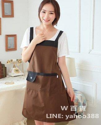 防水圍裙 可愛肩帶式 無袖 廚房餐廳用品