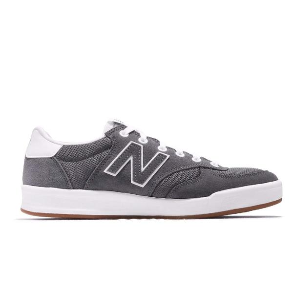 New Balance 休閒鞋 300 NB 灰 白 麂皮鞋面 膠底 男鞋 女鞋 運動鞋【ACS】 CRT300HND