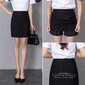 西裝裙2018新款韓版春職業半身裙工作裙黑色包臀短裙工裝一步裙女