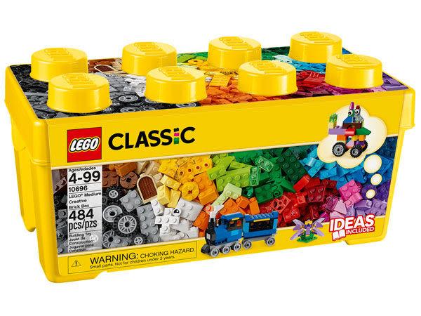 樂高LEGO CLASSIC 中型創意拼砌盒 10696 TOYeGO 玩具e哥