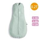 ergoPouch ergoCocoon 二合一舒眠包巾 0.2T(0~12m)蘇答綠-懶人包巾