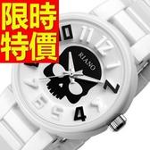 陶瓷錶-俏麗百搭浪漫女腕錶56v10【時尚巴黎】