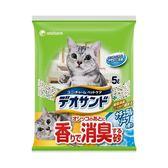 【日本Unicharm】消臭大師尿尿後消臭貓砂-肥皂香(5L x 4入)