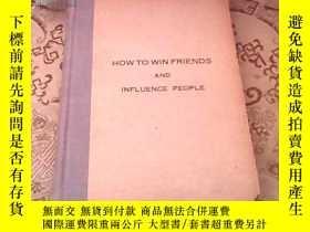 二手書博民逛書店HOW罕見TO WIN FRIENDS AND INFLUENC