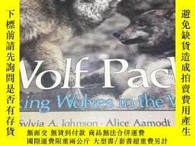 二手書博民逛書店Wolf罕見pack Tracking Wolves in th