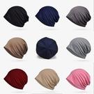 全棉 夏季新品封頂套頭帽薄款光板純棉 男女通用街頭百搭包頭帽 小山好物