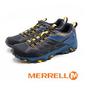 MERRELL MOAB FST 2 GORE-TEX防水郊山健行鞋 男鞋 - 藍
