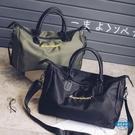 旅行袋新款男女百搭防水牛津布手提旅行包大容量健身包行李袋運動包