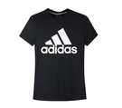 Adidas W MH BOS TEE 女款黑色短T-NO.DY7732
