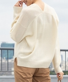 出清 小羔羊毛 V領 針織衫 可手洗 日本品牌【coen】