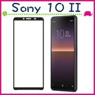 Sony Xperia 10 II 六吋 滿版9H鋼化玻璃膜 3D曲屏螢幕保護貼 全屏鋼化膜 全覆蓋保護貼 防爆 (正面)