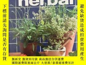 二手書博民逛書店Home罕見Herbal: Cook, Brew and Ble