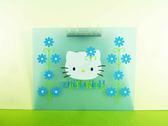 【震撼精品百貨】Hello Kitty 凱蒂貓~磁鐵文件夾~藍【共1款】