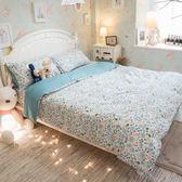 青青子衿 S3單人床包與雙人兩用被三件組 100%精梳棉(60支) 台灣製 棉床本舖