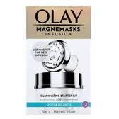 OLAY微磁導入透白面膜套裝(面膜50ml+微磁導入儀)