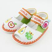 【愛的世界】水果百匯寶寶鞋/學步鞋-台灣製- ★童鞋童襪