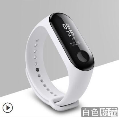 小米手環3  小米3手環腕帶 智能手環三代運動替換表帶多彩  酷動3C