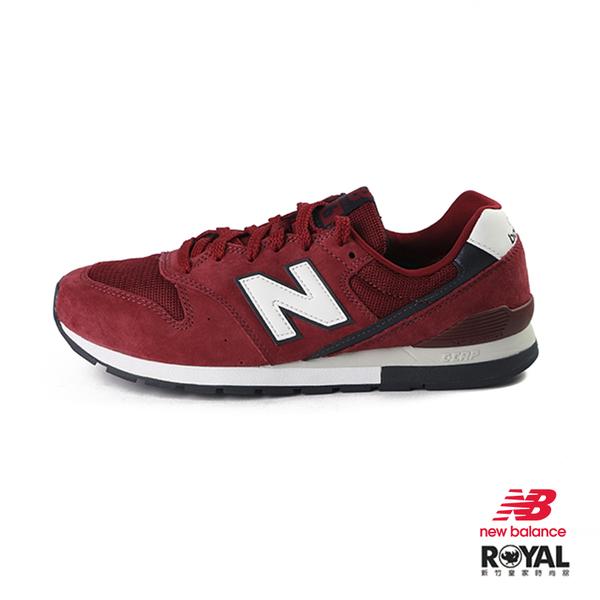 New Balance 996 酒紅色 網布 復古 休閒運動鞋 男女款NO.B0970【新竹皇家 CM996RA】
